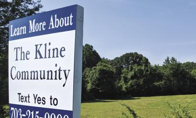 Kline property sign