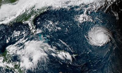 Hurricane Florence NOAA Satellite