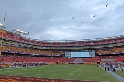 Washington Football Team FedEx Field 2020 game