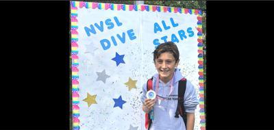 Chesterbrook freshman diver