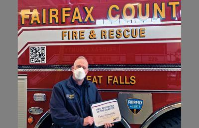 Great Falls fire captain honored as first-responder of quarter