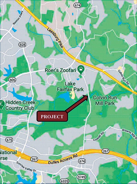 Fairfax supervisors back plan for new Hunter Mill bridge at Colvin Run 1