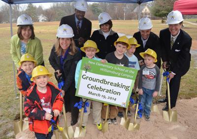 Arlington school officials break ground on new elementary