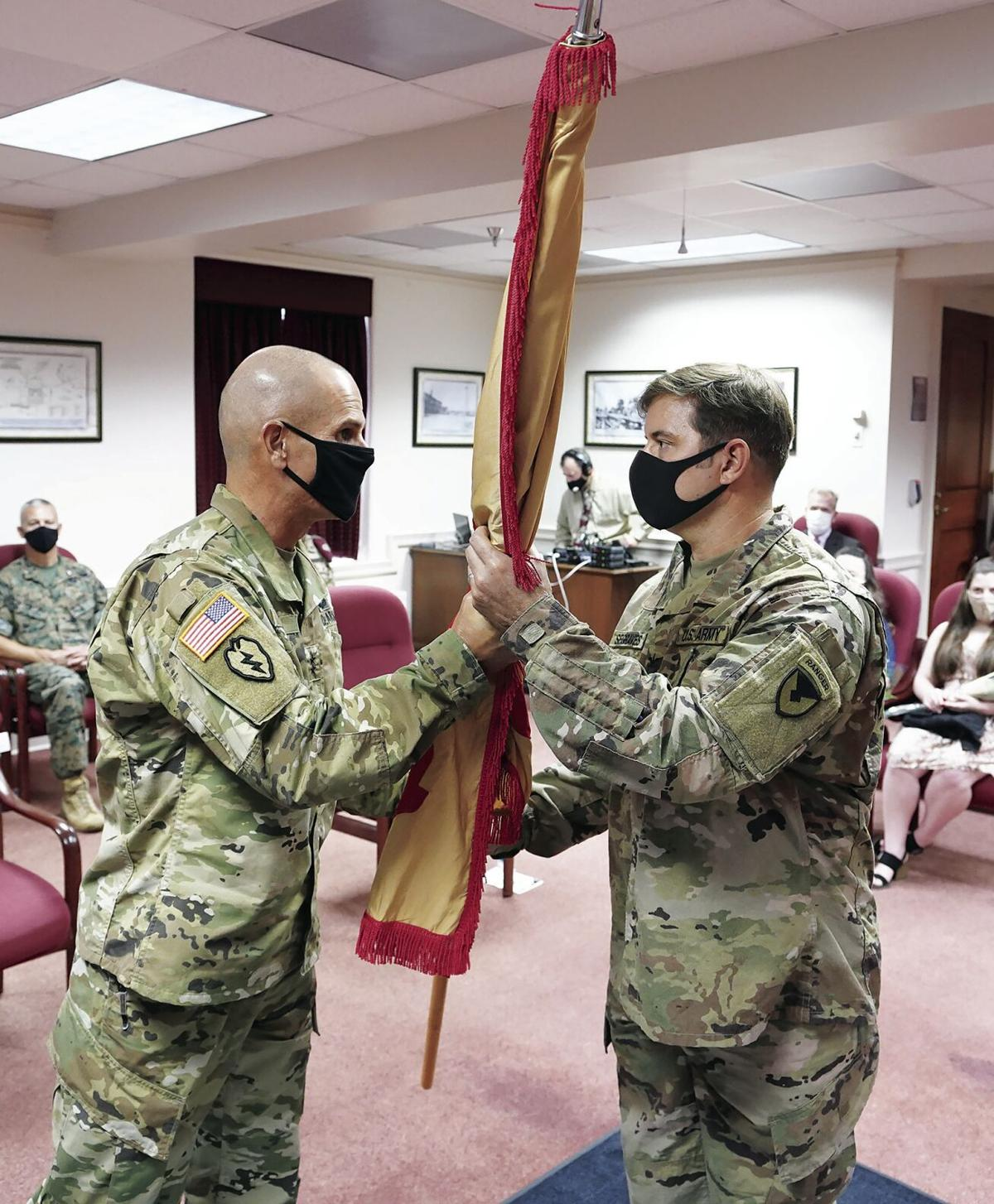 Change of Command Ceremony August 11, 2020