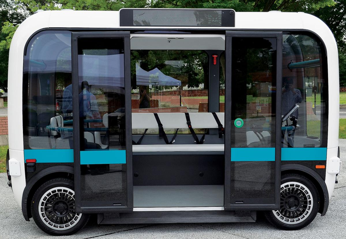 'Olli' autonomous mini-buses now being tested at Arlington military base