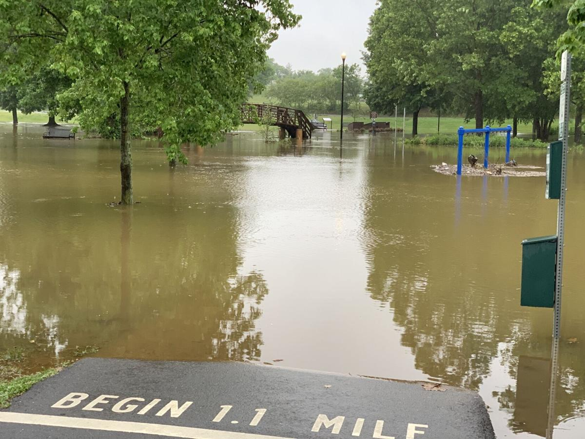 UPDATED: Estimated 9 inches of rain falls in Culpeper; flooding extensive