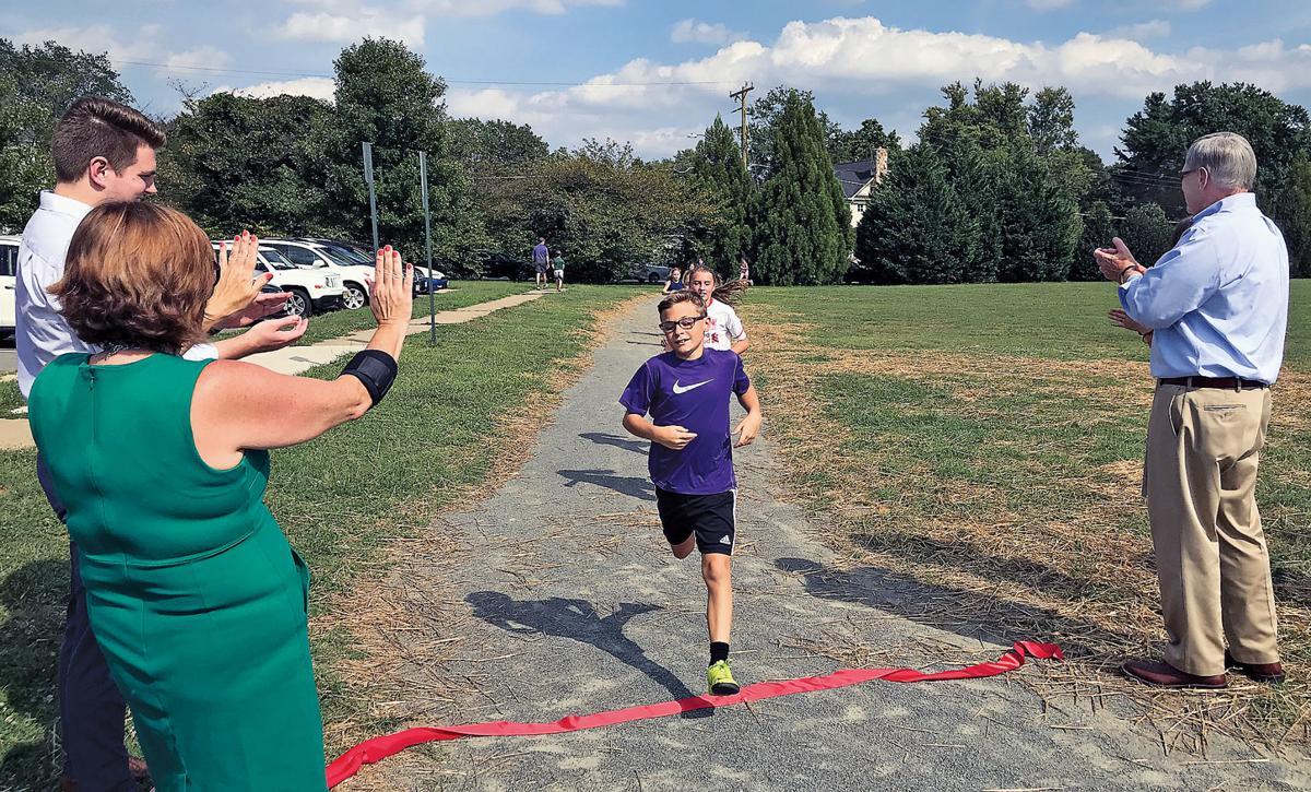 New track graces elementary school in McLean