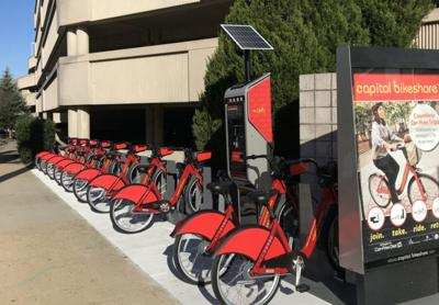 Capital Bikeshare station comes to airport
