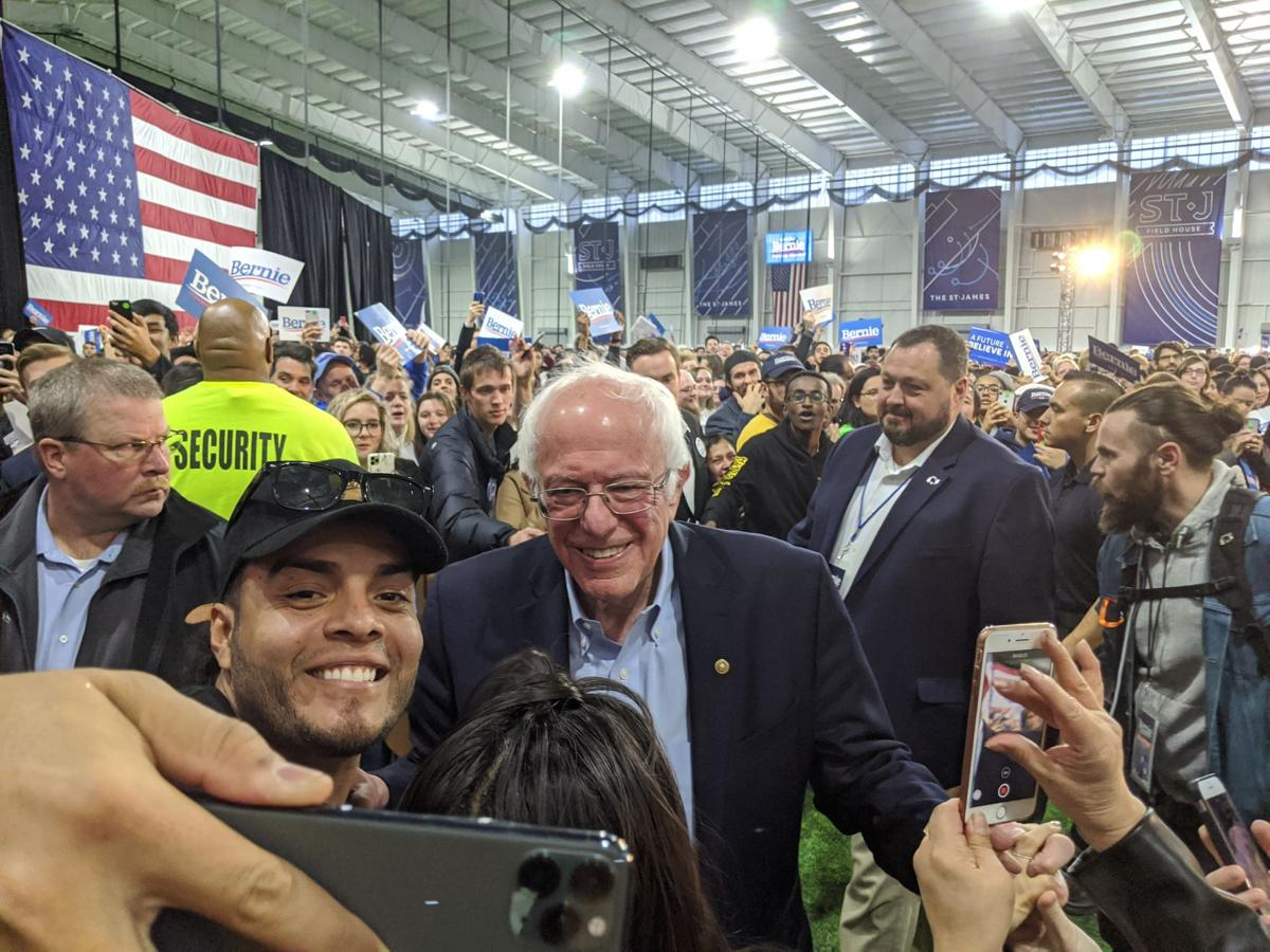 Sanders rally draws large crowd to Springfield