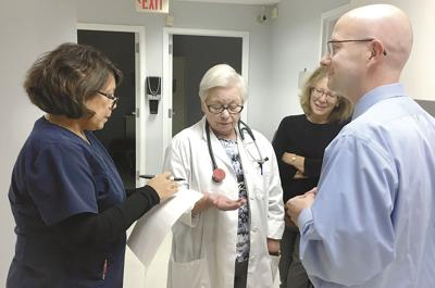 Catholic free clinic fills site of former abortion clinic in