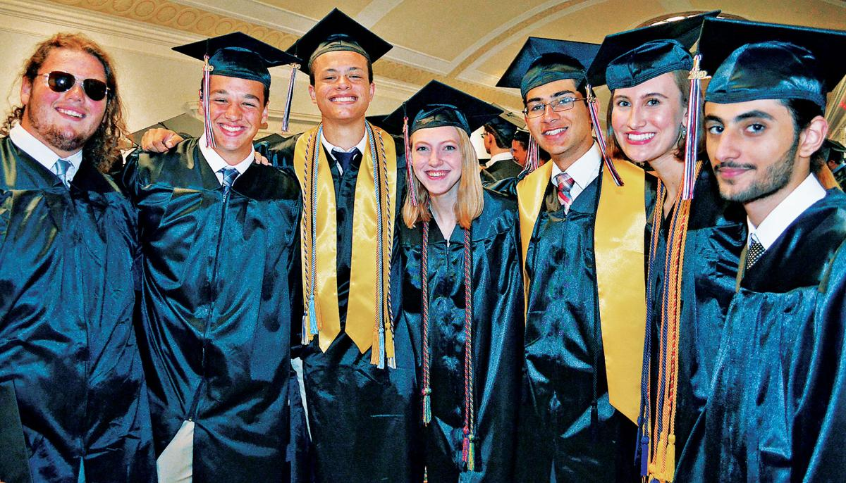 James Madison High School 2019 graduation 1