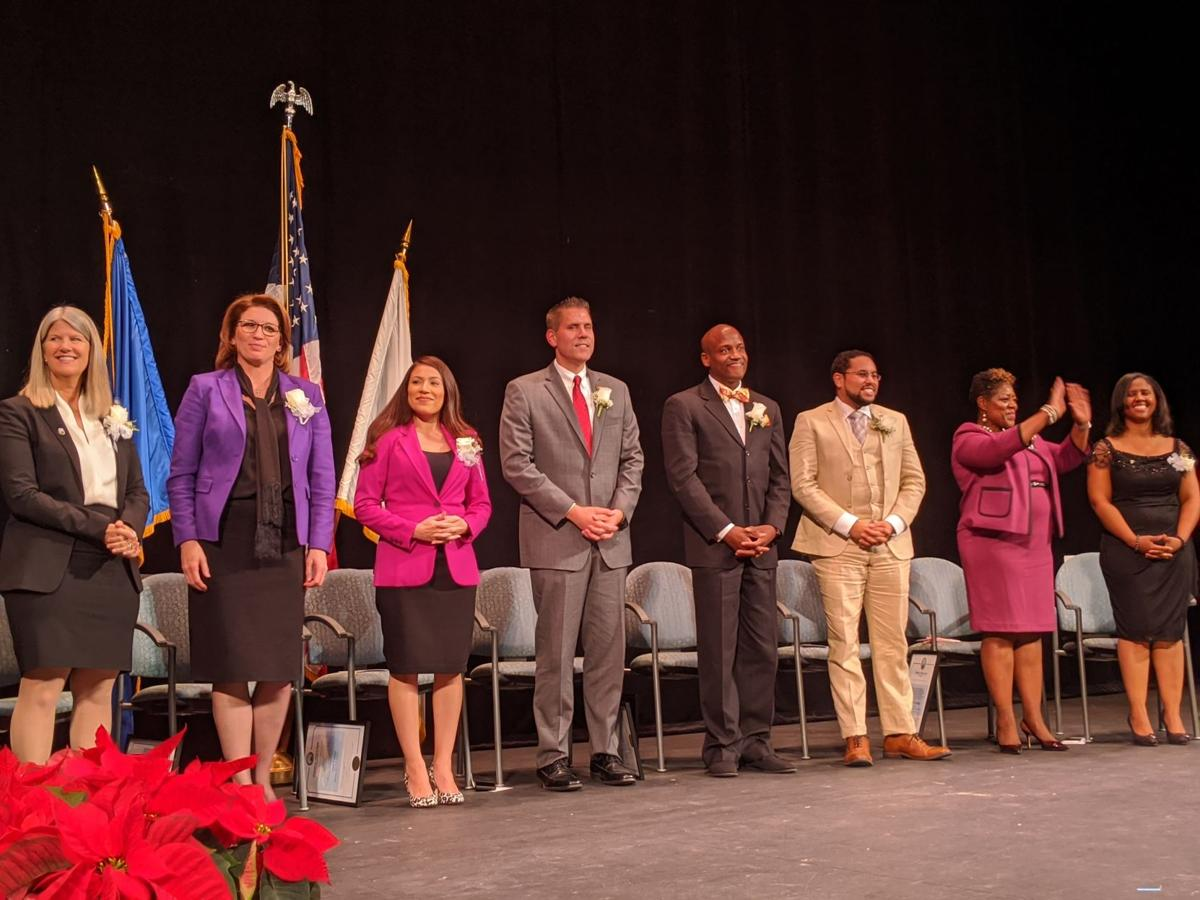 PRINCE WILLIAM BOARD OF COUNTY SUPERVISORS SWEARING IN