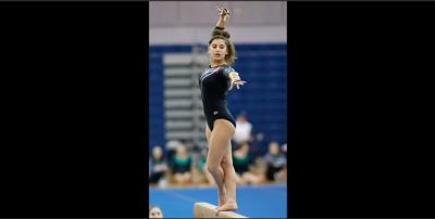 Marshall high school gymnast