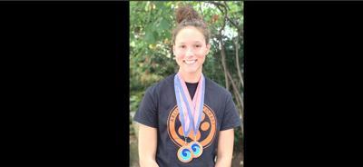 Arlington Forest swimmer Gallion
