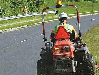 VDOT crews undertake mowing