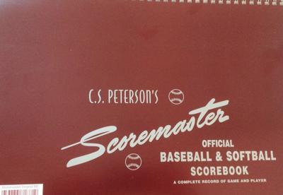 Photo of a scorebook