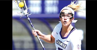 JMU lacrosse player Duenkel