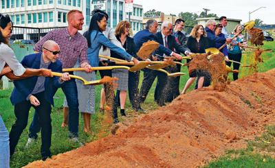 Officials break ground for W. Falls Church transportation upgrades