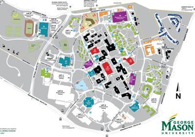 Gmu Fairfax Campus Map Mason officials plan community conversation on future of Fairfax