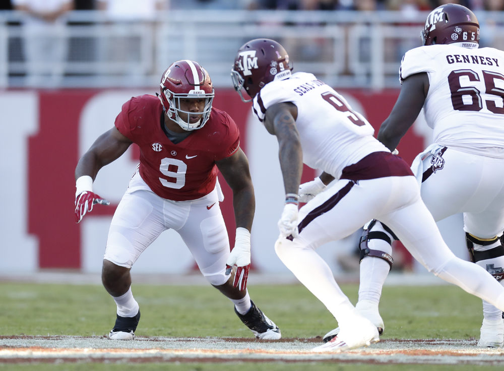 Alabama DL Da'Shawn Hand arrested for DUI