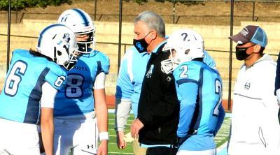 Yorktown sideline huddle