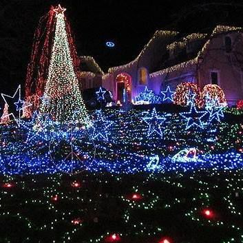 Christmas Light Displays.Northern Virginia S Best And Brightest Christmas Lights