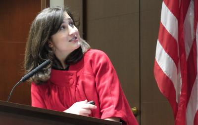 Arlington County Board Chairman Katie Cristol