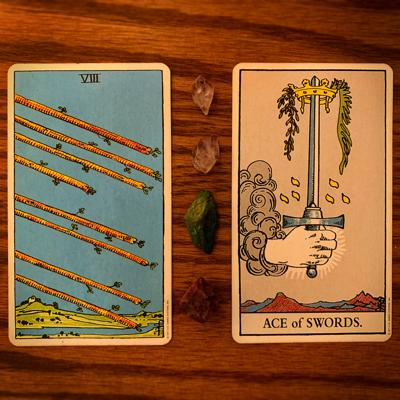 Weekly Tarotscope for June 25: 8 OF Wands, Ace of Swords