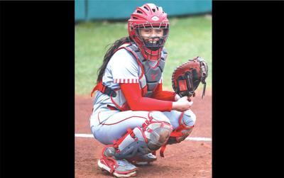 Softball player Norton