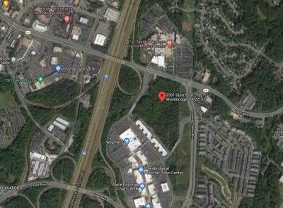 Site of Potomac Neabsco Commuter Garage