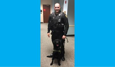 New K-9 dog joins Arlington County Sheriff's Office