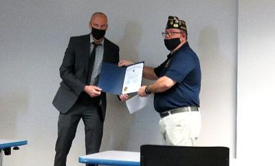 Arlington detective garners VFW law-enforcement award