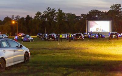Joe Biden's acceptance speech shared at drive-in convention watch party