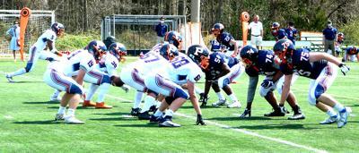 Potomac School football game