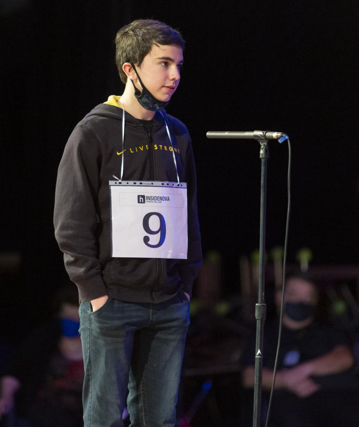 Isaac Long Prince William Spelling Bee