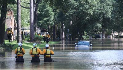 Hurricane Havey US&R Teams Look for Survivors