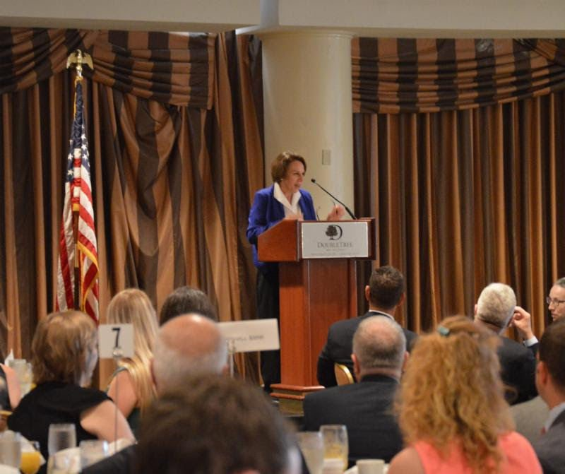 Libby Garvey speaks at 2016 State of County