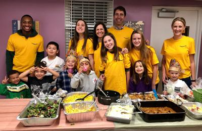 Volunteers fan out to support AHC communities over Thanksgiving