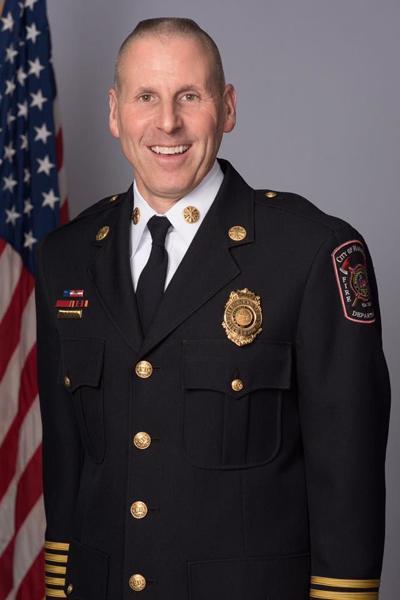 Manassas Fire Chief Rob Clemons
