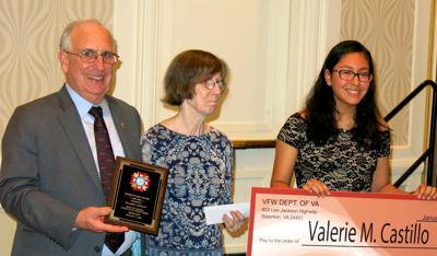 Arlington student honored in VFW essay contest