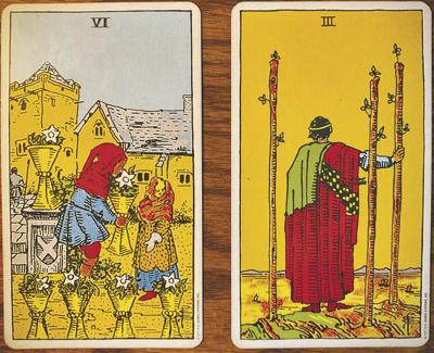 Weekly Tarotscope for May 14: 6 of Cups, 3 of Wands