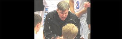 Photo of Marshall hoops coach