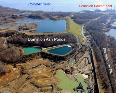 Dominion coal ash ponds