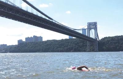 Swimmer Andie Nelson