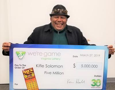 Alexandria man wins $5M on 'extra' lottery ticket