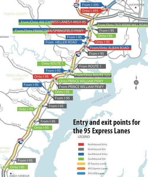 No More Free Ride Tolling Set To Begin On 95 Express Lanes