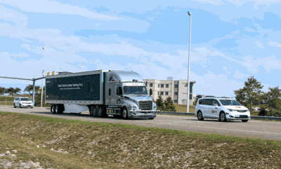 Self-driving truck fleets to be developed in Virginia