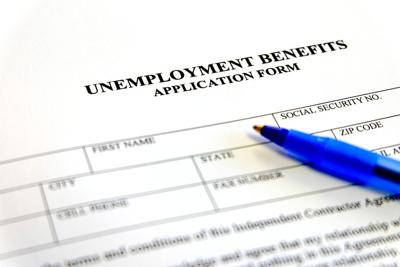 Written unemployment benefits application form