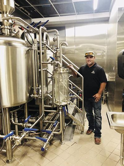 Brewery Manager Joshua Johnson