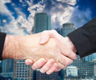 handshake deal sale